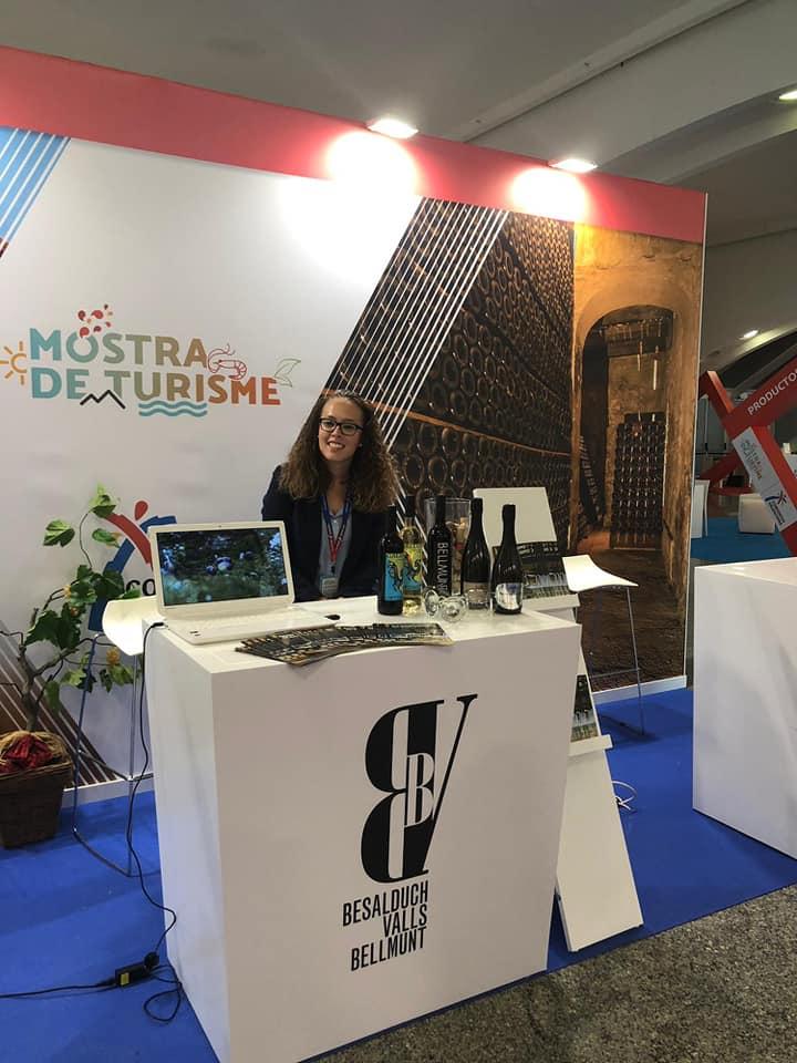 De promoción en la Mostra de Turisme de la Comunitat Valenciana