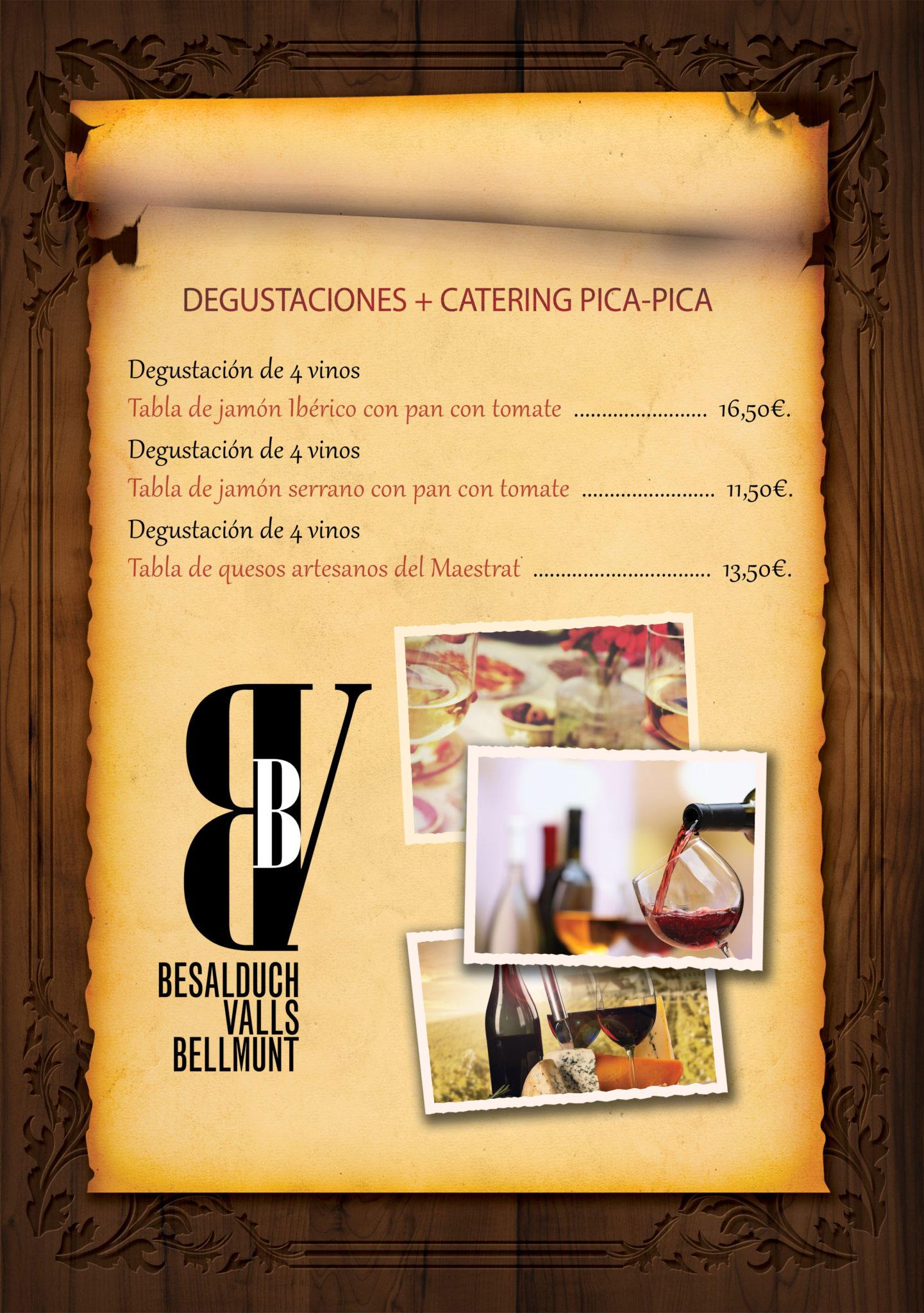 DEGUSTACIÓN + CATERING PICA-PICA