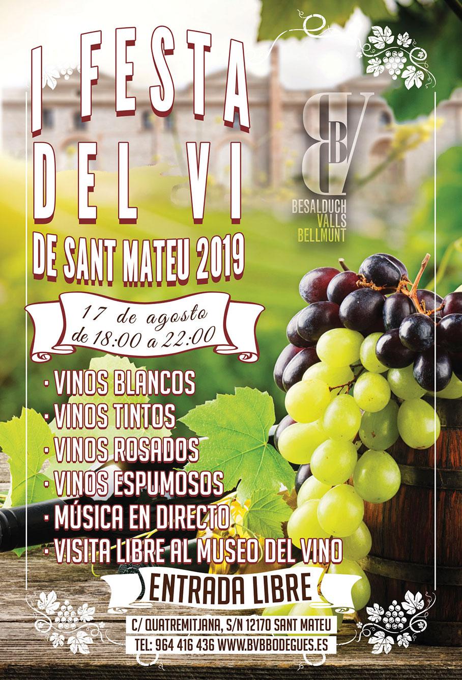 I Festa del Vi de Sant Mateu